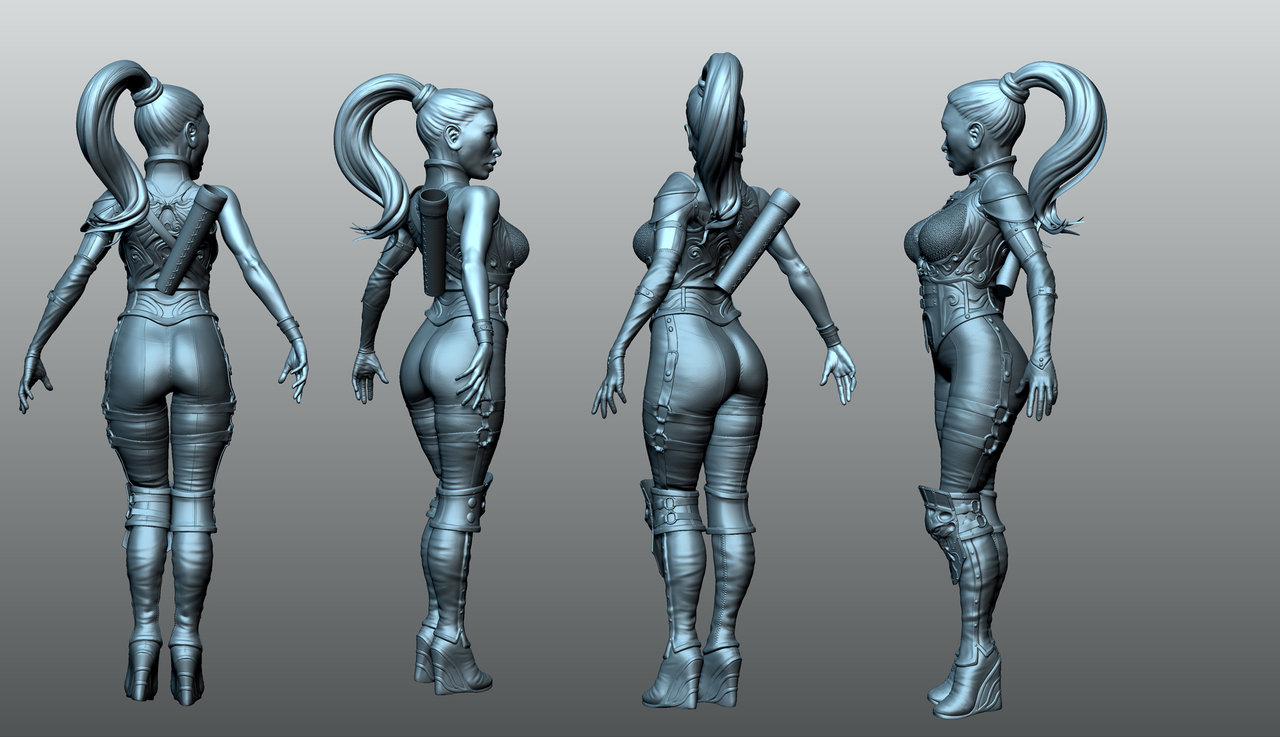 3D Freelance 3d character artist for freelance opportunities - epic games forums